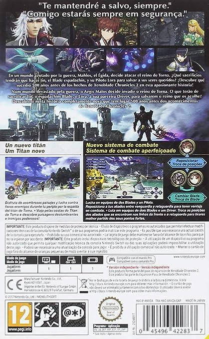 Xenoblade Chronicles 2: Torna - The Golden Country (Expansión): Nintendo: Amazon.es: Videojuegos