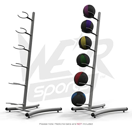 6e0e2f544 We R Sports Medicine Ball Slam Ball Rack Stand Tower Gym Training    Exercise Fitness Workout  Amazon.co.uk  Sports   Outdoors