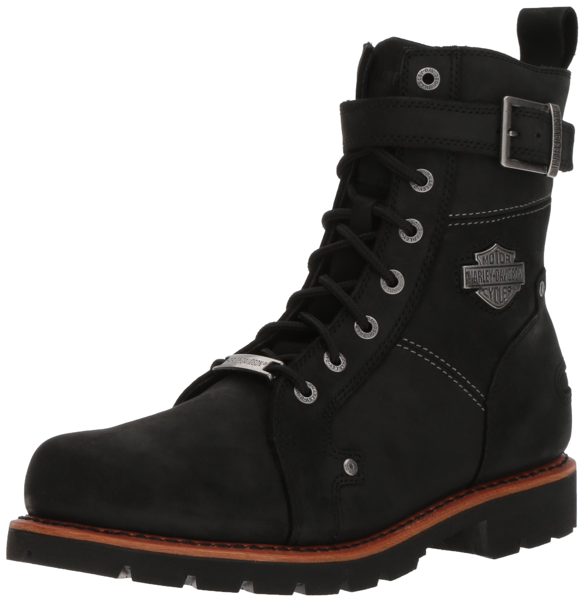 Harley-Davidson Men's Wickson Motorcycle Boot, Black, 7.5 Medium US