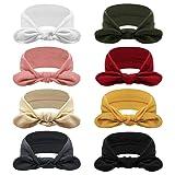 DRESHOW 8 Pack Women's Headbands Headwraps Hair