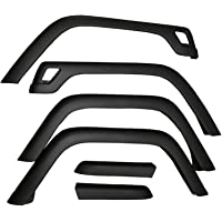 OMIX 11603.01, Factory Style Fender Flare Kit for 1997-2006 Jeep Wrangler TJ Models, Pack of 6