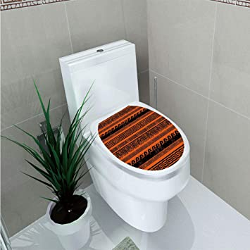 Amazon Com Toilet Cover Decoration Toga Party Classical Border