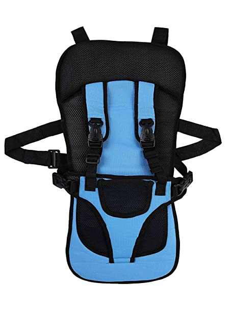 MARVELLA MART Baby Car Seat Cushion with Safety Belt for 0 to 5 Years Kids