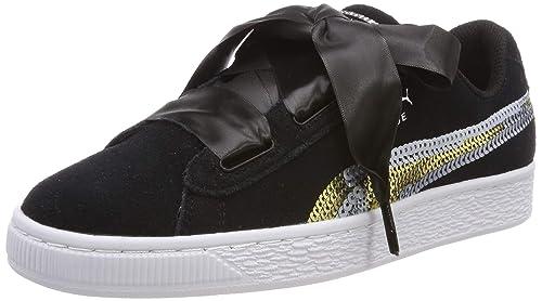 Puma Suede Heart Trailblazer Sqn Jr, Zapatillas para Niñas: Amazon.es: Zapatos y complementos
