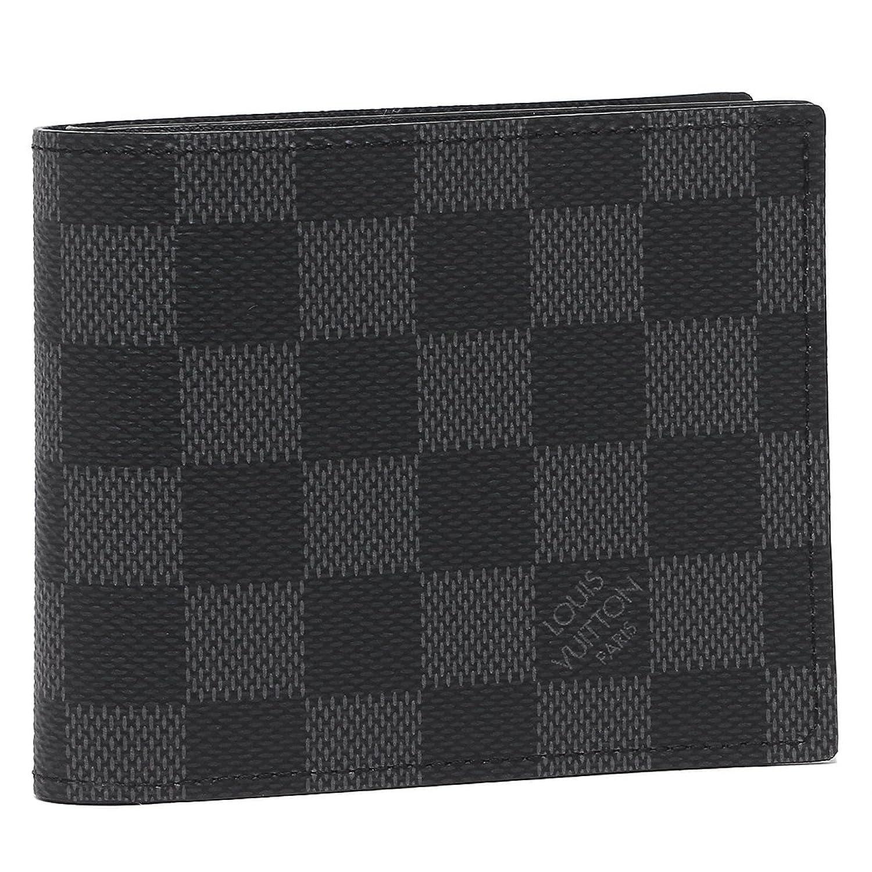 ルイヴィトン 財布 LOUIS VUITTON N63336 ダミエグラフィット ポルトフォイユマルコ メンズ 二つ折り財布 グレー [並行輸入品] B075TXDM5M