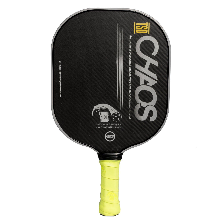 Amazon.com : Third Shot Drop Custom Pickleball Paddle Chaos Model H- USAPA Approved : Sports & Outdoors
