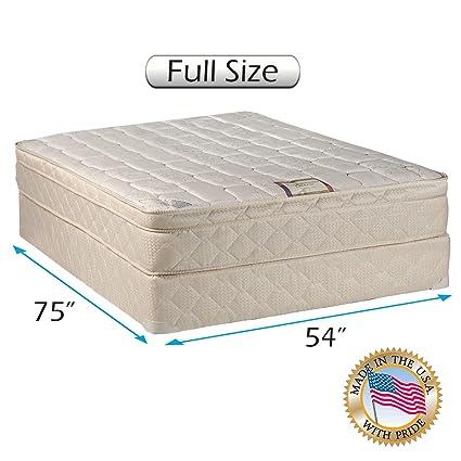 Amazon.com: Tomorrow's Dream Inner Spring Pillow Top (Eurotop