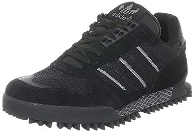 47b11513239d8d adidas Originals Men s MARATHON TR Low-Top Sneakers Black Size  6 ...