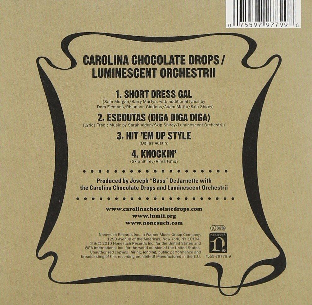 Carolina Chocolate Drops / Luminescent Orchestrii - Carolina ...