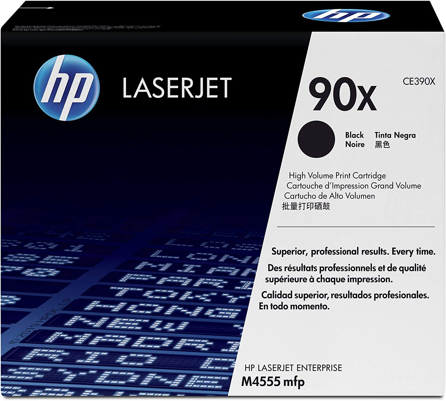 HP 90X | CE390X | Toner Cartridge | Black | High Yield