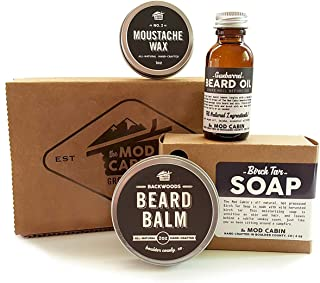 product image for Core Beard Kit - Wood & Smoke Combo - All Natural, Hand Crafted in USA