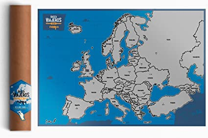 Map Rascable Europe Normal Amazon Co Uk Office Products