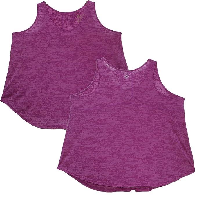 967cef908c481b Marika Plus Size Balance Collection (by Womens Lightweight Yoga Tank Top 3X  Dark Magenta: Amazon.ca: Clothing & Accessories