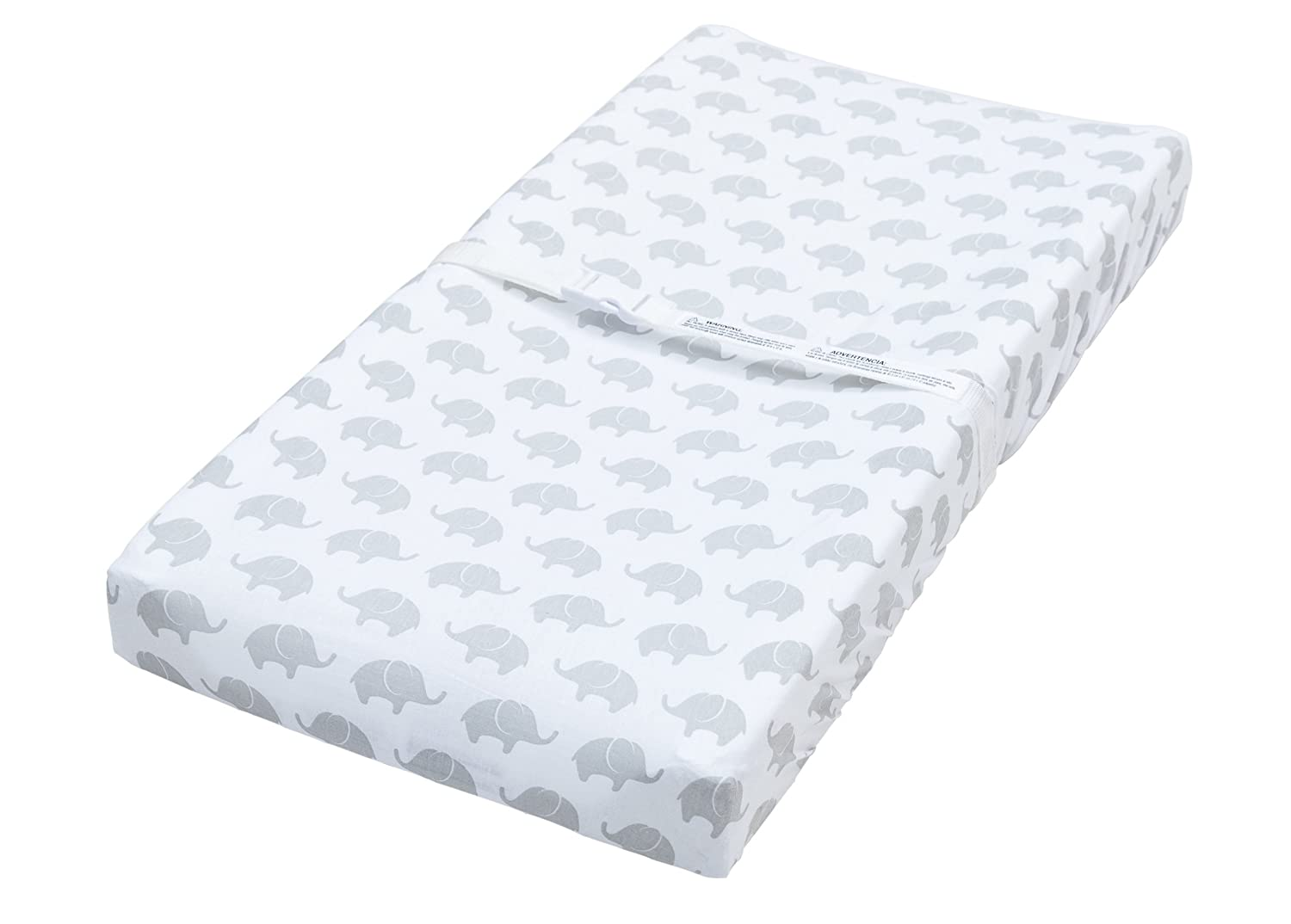 2 Pack Mint Quatrefoil /& Elephant Fitted Soft Jersey Cotton Changing Pad Cover