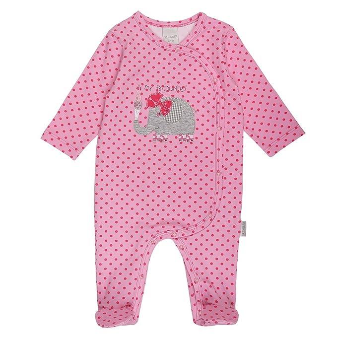 Stummer Nacimiento Bebé Niña Mono, Onesie Bebé, Pelele, Pijama, Rosa, Talla