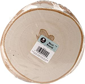Walnut Hollow 3-Pack Large Birch Round for Home Decorating & Rustic Weddings