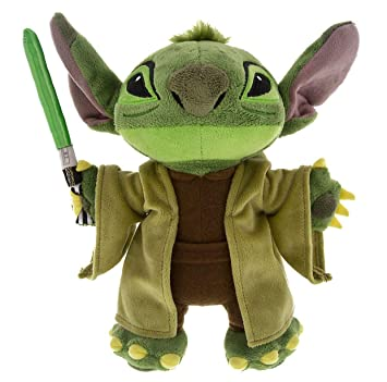 Stitch As Yoda Plush by Disney