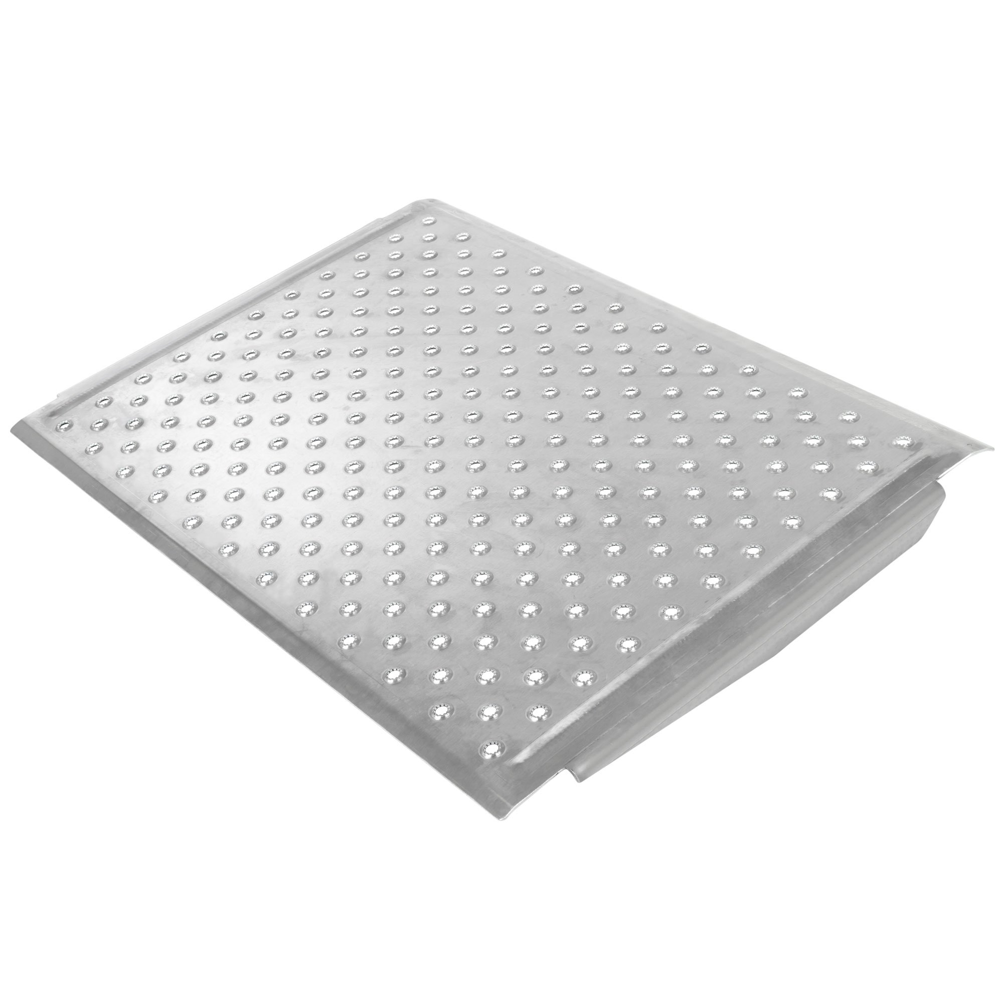24'' x 36'' Aluminum EZ-Traction Curb Ramp by Discount Ramps
