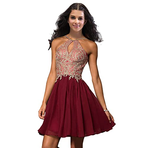 Red and Gold Prom Dresses Short: Amazon.com