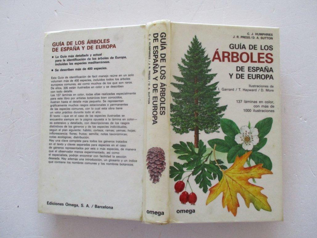 GUIA ARBOLES ESPAÑA Y EUROPA (FUERA DE CATALOGO): Amazon.es: Humphries, C. J. ... [et al.]: Libros