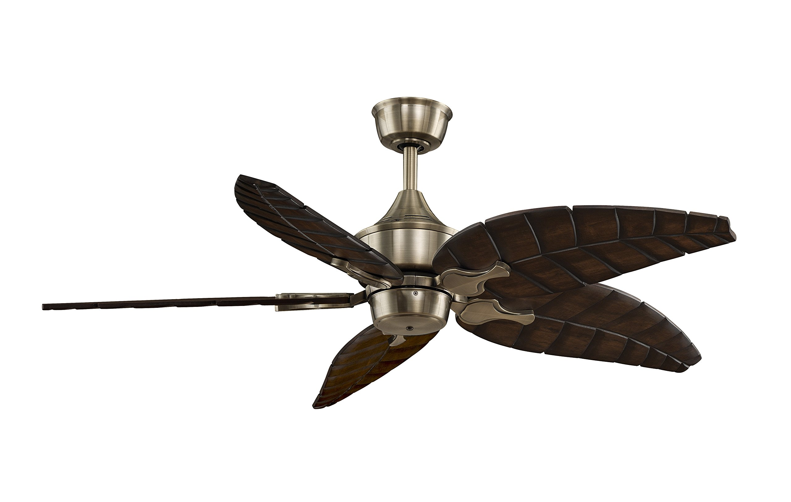 Fanimation MAD3250AB Islander, Antique Brass, Motor Only