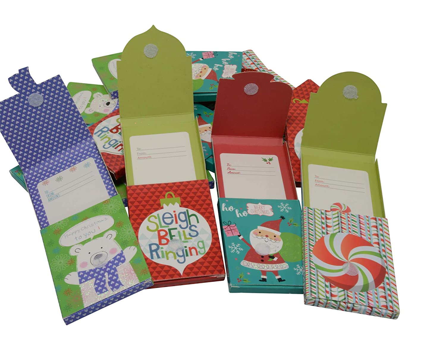 Christmas Gift Card Holder Ideas.Amazon Com Gift Card Holder Hook And Loop Closure