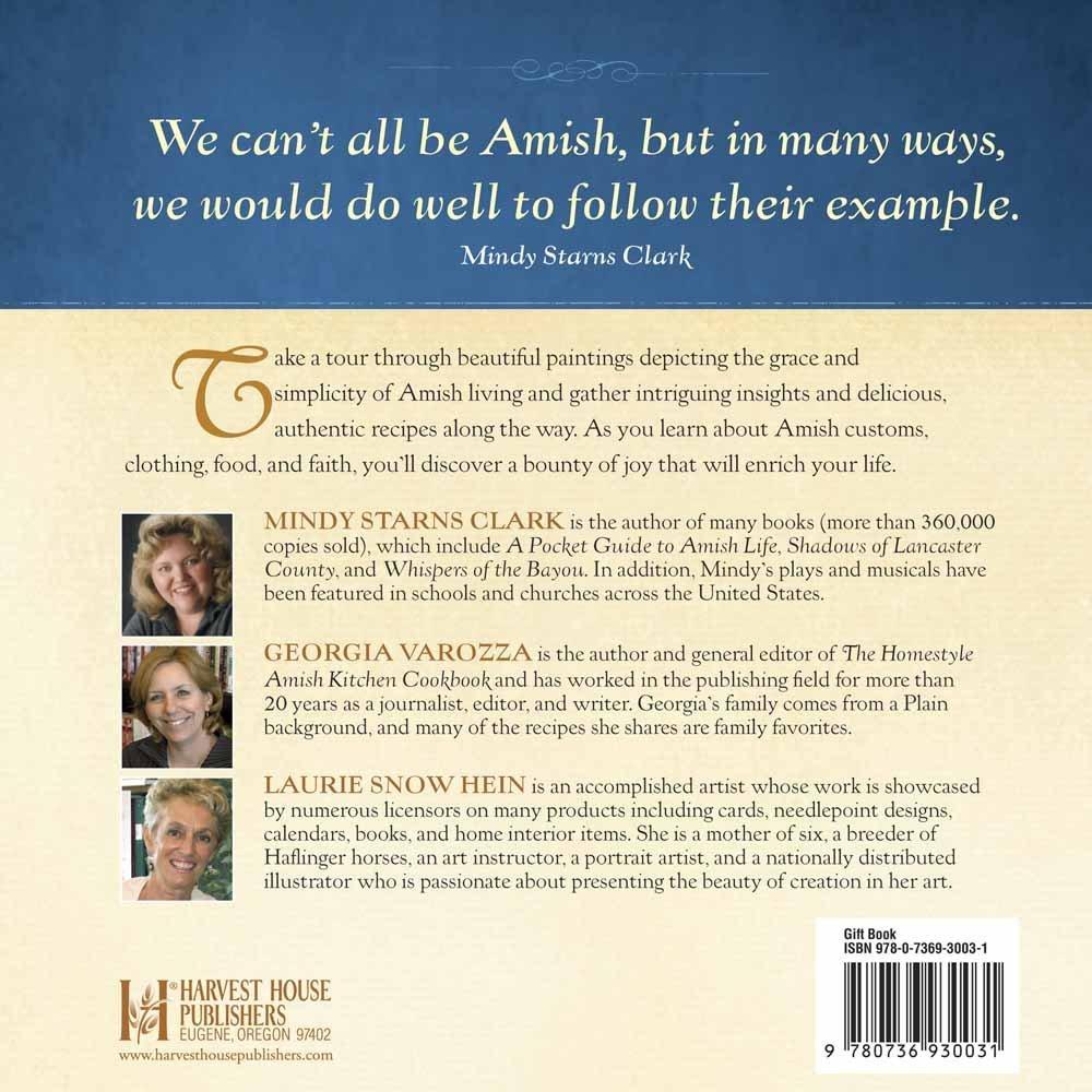 Simple Joys Of The Amish Life: Mindy Starns Clark, Georgia Varozza, Laurie  Snow Hein: 9780736930031: Amazon: Books