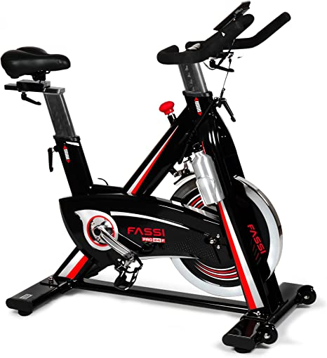 Fassi Pro 24 F Fit Bike, Negro: Amazon.es: Deportes y aire libre