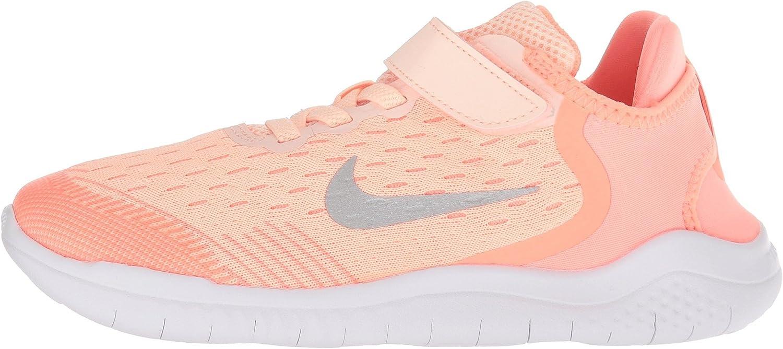 Nike Free Run 2018, Zapatillas de Running para Niñas, Rosa (Crimson Tint/Gunsmoke/Crimson 800), 34 EU: Amazon.es: Zapatos y complementos