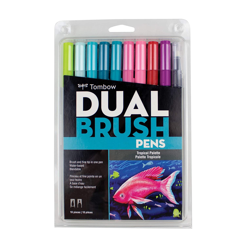 Tombow Dual Brush Pens - Tropical