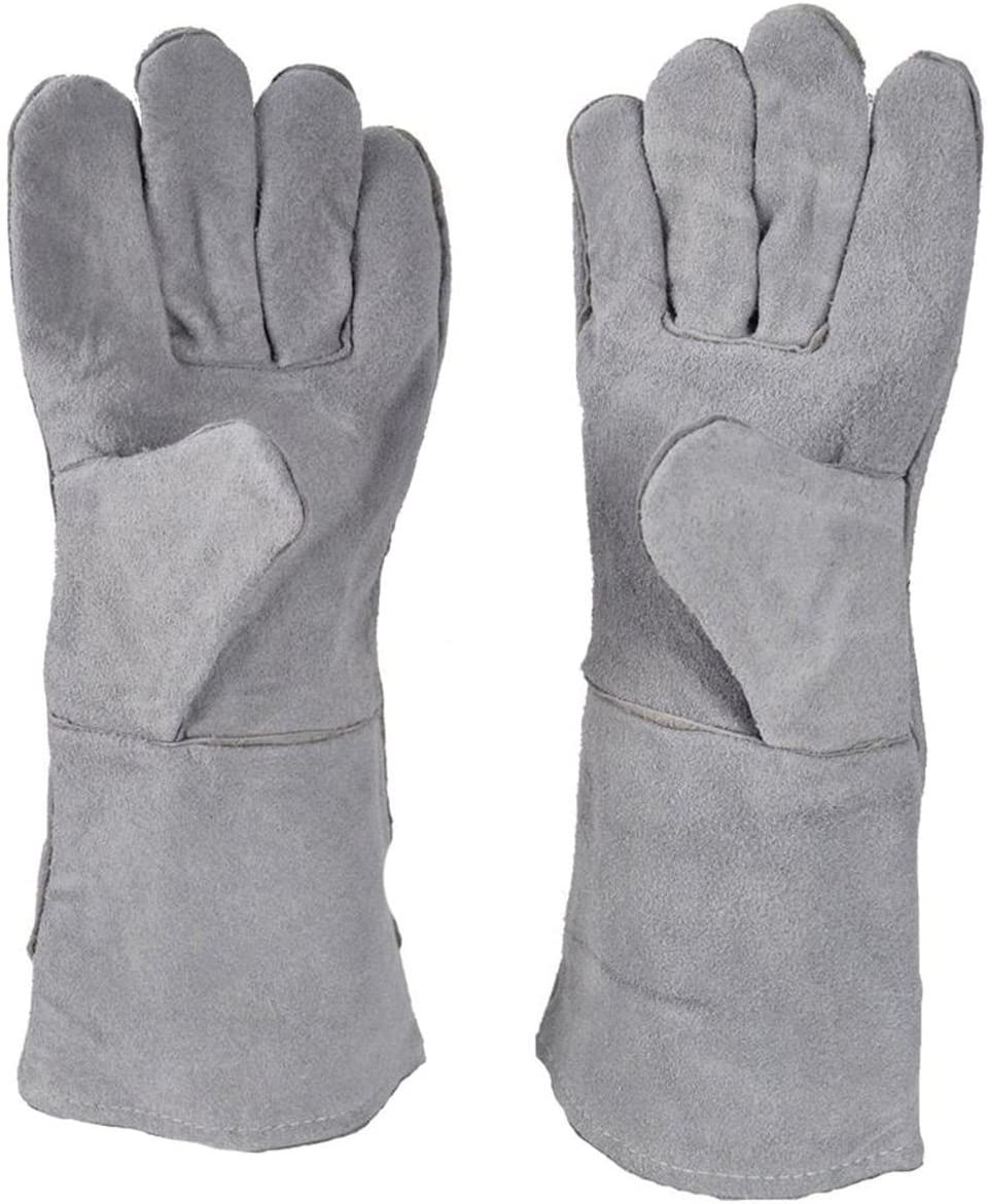 MS 13 Heat Resistant Safety Melting Furnace Gloves Refining Casting Gold Silver Copper