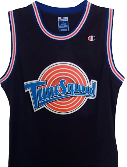 Michael Jordan Space Jam Jersey - #23 Tune Squad - Black (Large) by