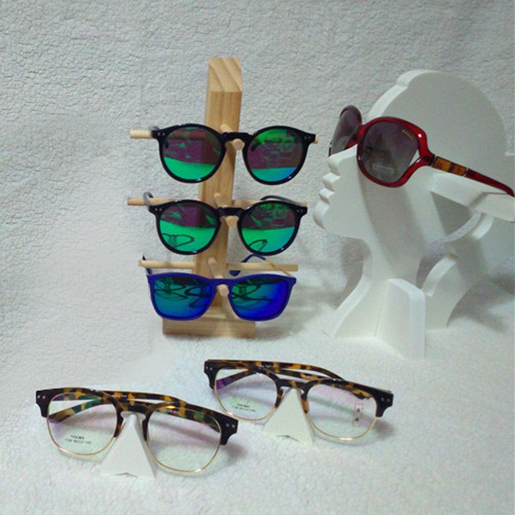 a09aba5479 Soporte de Exhibición Organizador de Gafas de Sol Lente Marco Madera - 6- Layer: Amazon.es: Juguetes y juegos