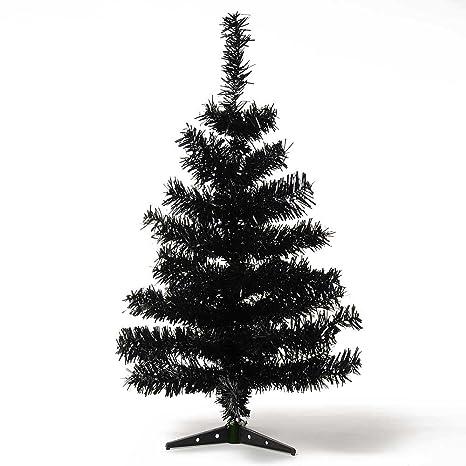 Weihnachtsbaum Schwarz.Hab Gut Xm012 Künstlicher Weihnachtsbaum Farbiger Tannenbaum Schwarz Höhe 60 Cm