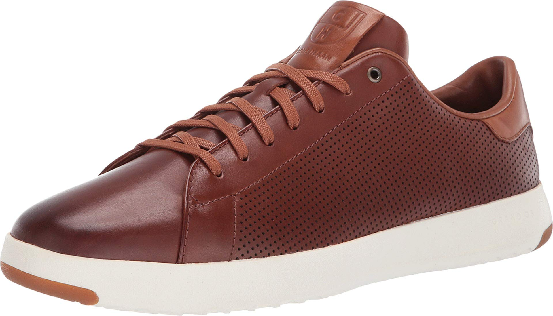 Cole Haan Mens Grandpro Tennis Sneaker 7 Woodbury Handstained Leather by Cole Haan (Image #1)
