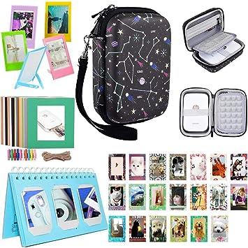 Katia Sprocket - Kit de accesorios para impresoras de fotos portátiles HP X7N07A, Polaroid ZIP para impresoras móviles/impresión de redes sociales - ...