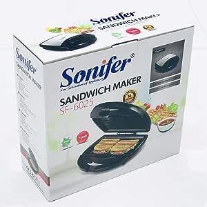 Sonifer Sandwich Maker 750W SF-6025