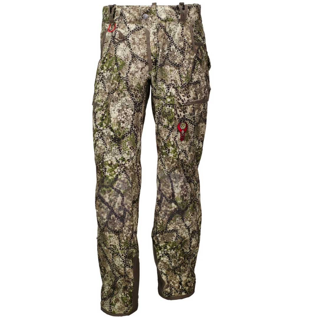 Badlands Rev Water Resistant Unlined Softshell Hunting Pant with Removable Suspenders - Approach Camo
