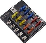 amazon com wupp st blade fuse block with led warning indicator damp Spring Box Clip Art