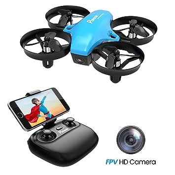 Potensic Drone con Cámara HD, Mini Drone con Modo de Inducción de ...