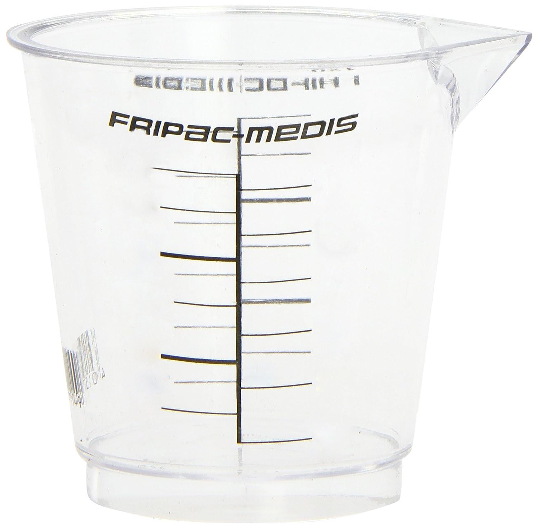 Fripac-Medis Messbecher mit Messskala von 10-120 ml F-1114