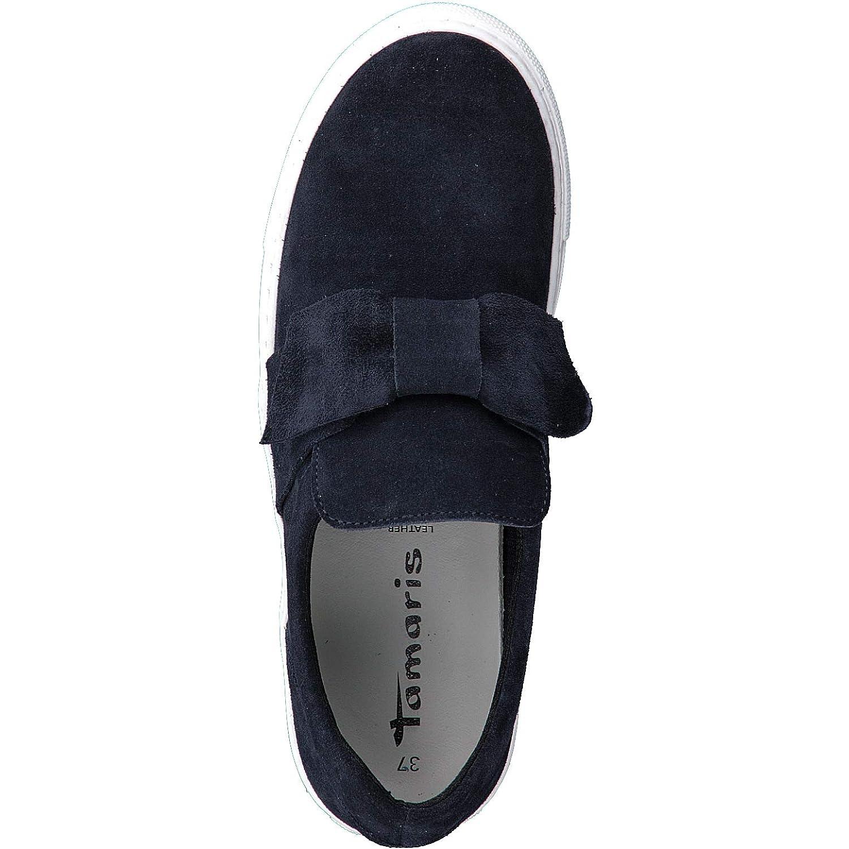 Tamaris Schuhe 1 1 24662 38 Bequeme Damen Slipper, Slip On, Halbschuhe, Sommerschuhe für modebewusste Frau,