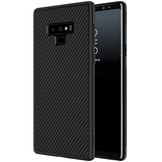 newest collection 15ac9 4e607 Galaxy Note 9 Case, Nillkin Synthetic Fiber Super Slim Case Back Cover  [Support Wireless Charge] with Excellent Hand-Feeling for Samsung Galaxy  Note 9 ...
