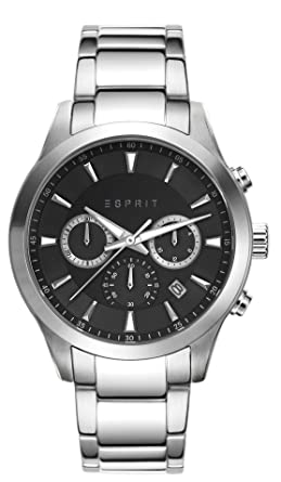 Esprit Quarz Chronograph Edelstahl Es107981003 Herren Armbanduhr Adam l1JTFKc3