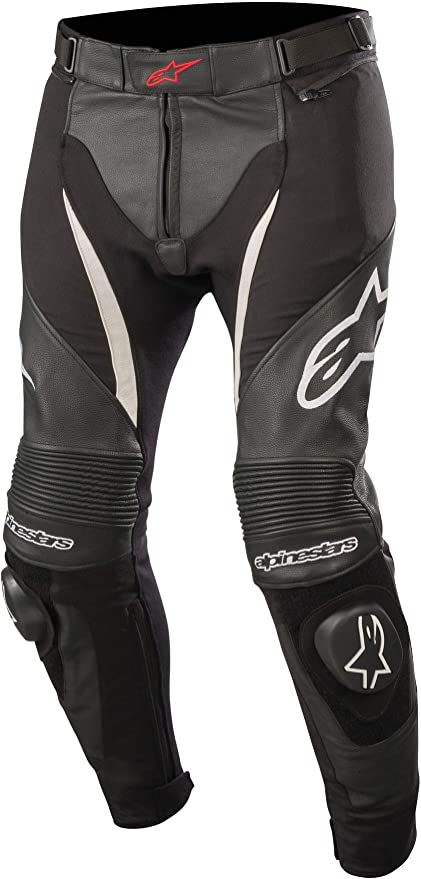 Alpinestars Spx Leather Textile Trousers Black White 46 Sport Freizeit