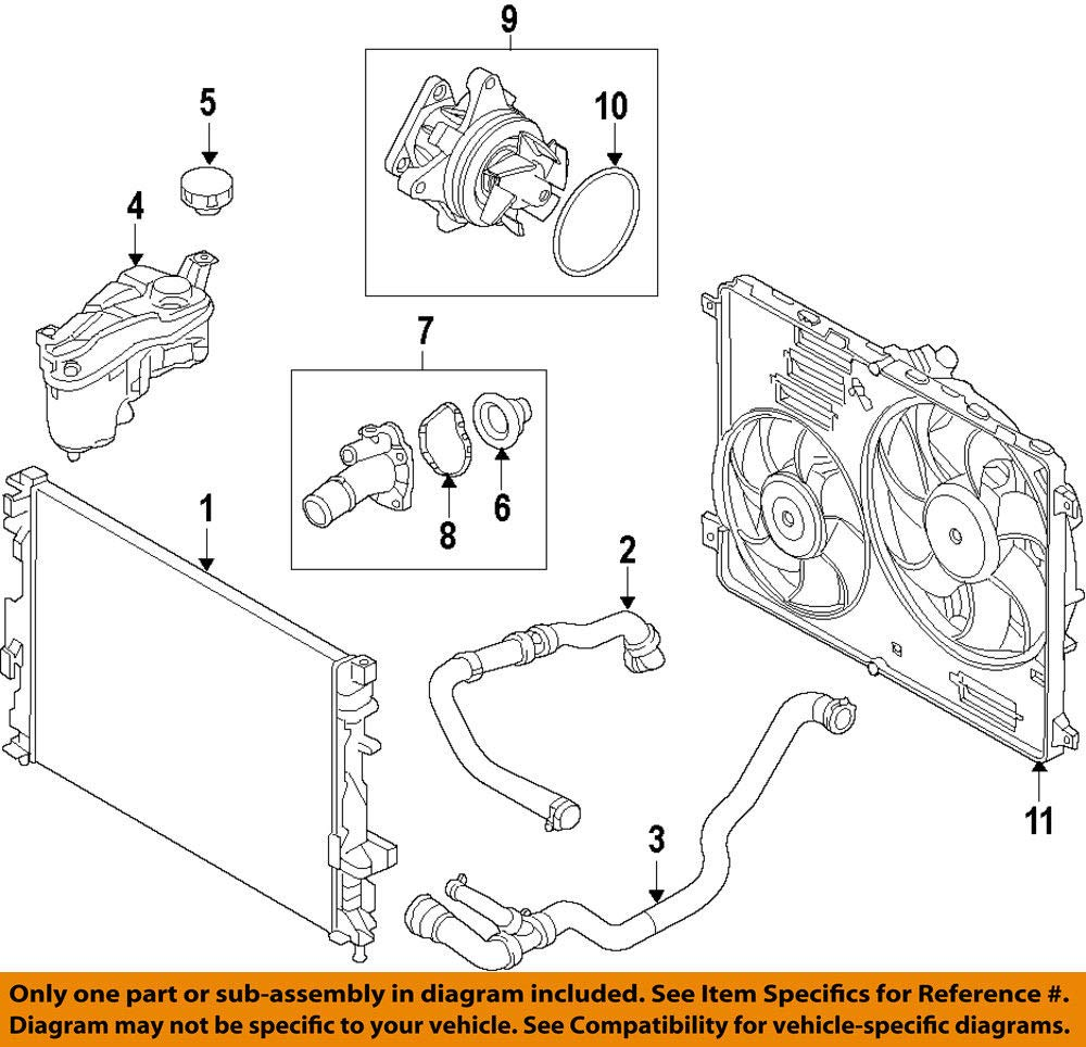 Amazon.com: LAND ROVER EVOQUE 2012 - ON THERMOSTAT HOUSING AND GASKET PART: LR027158: Automotive