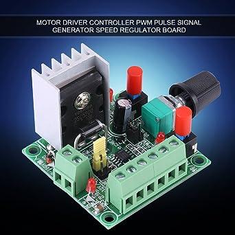 FTVOGUE Stepper Motor Controller PWM Pulse Signal Generator Speed Regulator Board Adjustable Frequency Regulation