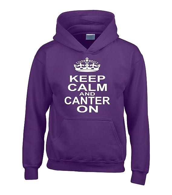 Carcasa pasa KEEP CALM AND CANTER con nombre en la parte trasera diseño de pesadilla antes ...