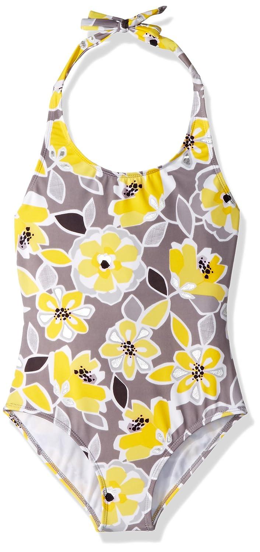 Gymboree Little Girls 1-Piece Swimsuit Floral Print