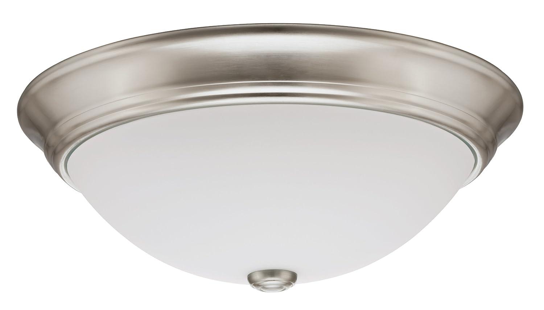 Lithonia Lighting 11983 BNP M2 15-Inch Fluorescent Decor Round Flush ...
